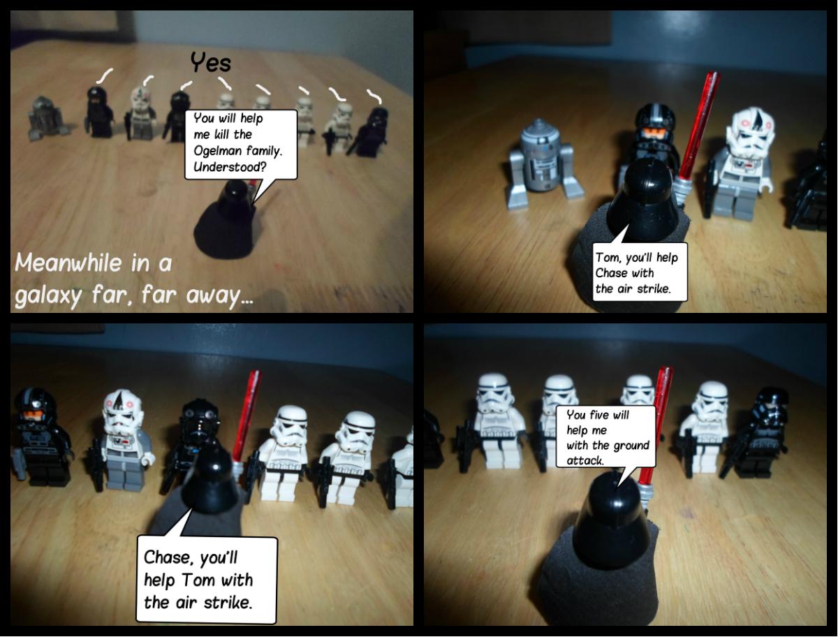 Meanwhile in a galaxy far, far away...