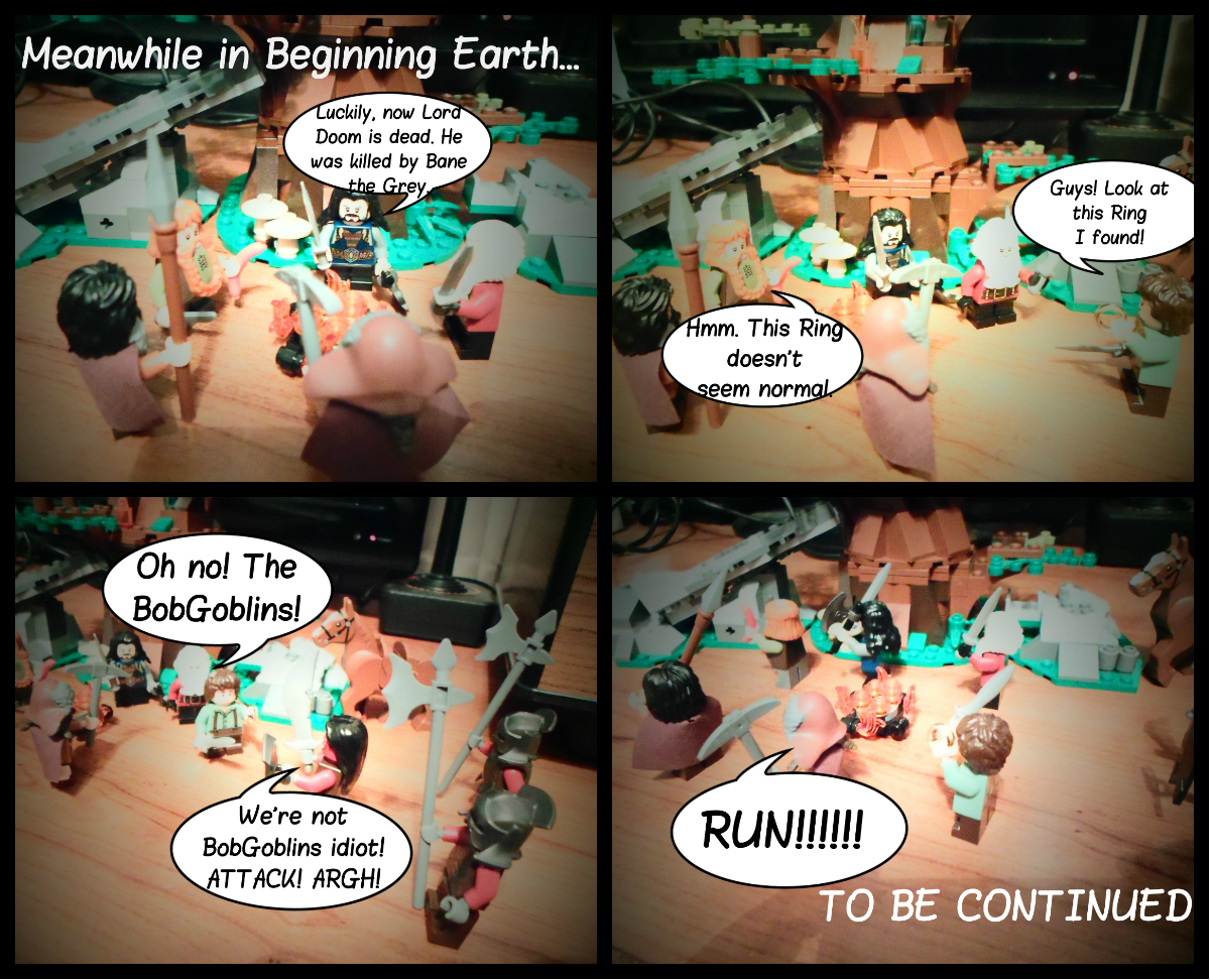 Meanwhile In Beginning Earth...